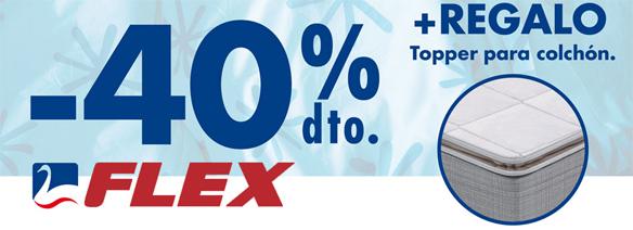 Promoción colchones Flex