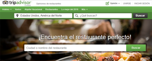 Elegir restaurante tripadvisor