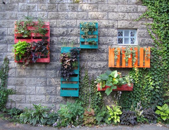 Decoración low cost de verano. Terrazas y jardínes