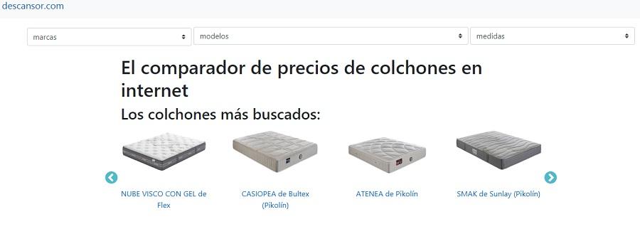 Nuevo comparador online de colchones descansor.com