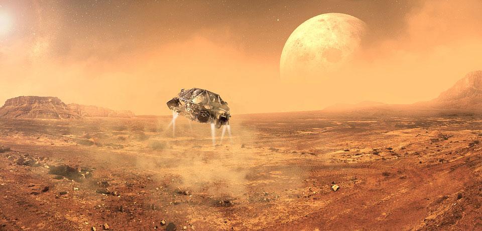 Vivir en Marte. Fuente: pixabay.com